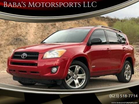 2010 Toyota RAV4 for sale at Baba's Motorsports, LLC in Phoenix AZ