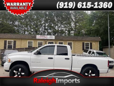 2004 Dodge Ram Pickup 1500 for sale at Raleigh Imports in Raleigh NC