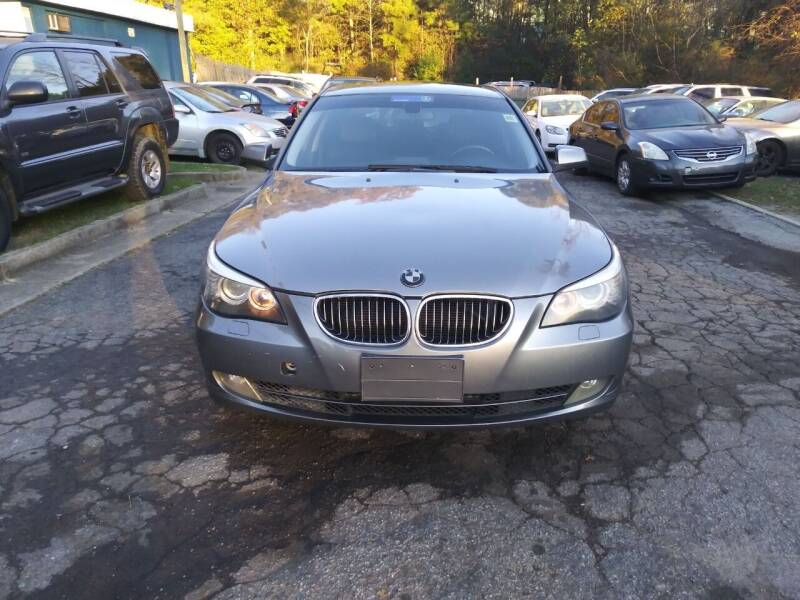 2010 BMW 5 Series for sale at Moreland Motorsports in Conley GA