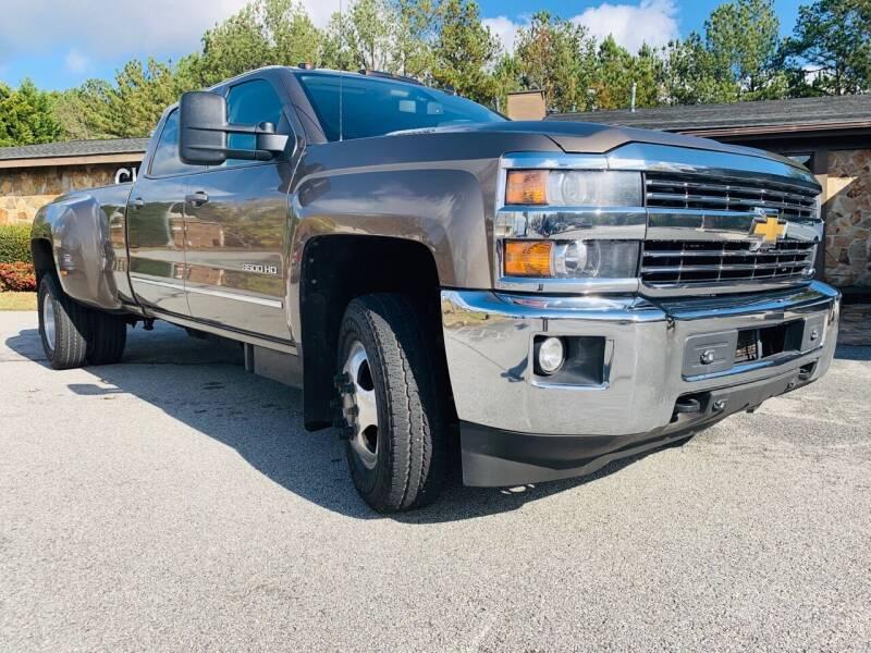 2015 Chevrolet Silverado 3500HD for sale at Classic Luxury Motors in Buford GA