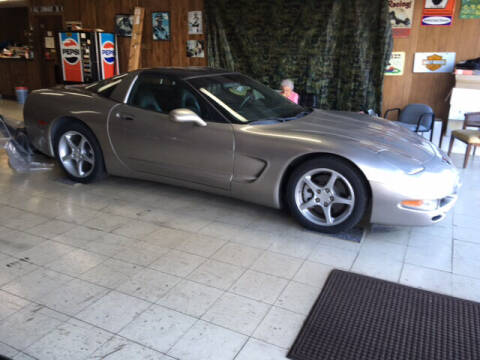2001 Chevrolet Corvette for sale at B & W Auto in Campbellsville KY