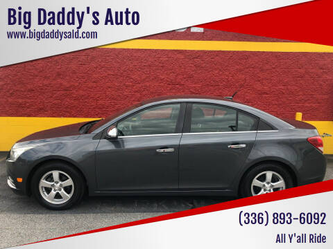 2013 Chevrolet Cruze for sale at Big Daddy's Auto in Winston-Salem NC