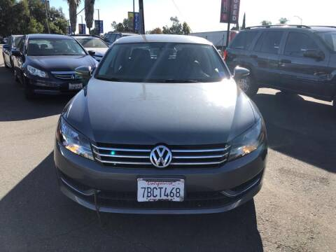 2013 Volkswagen Passat for sale at Faith Auto Sales in Temecula CA