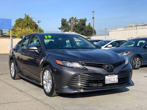 2019 Toyota Camry for sale at H & K Auto Sales & Leasing in San Jose CA