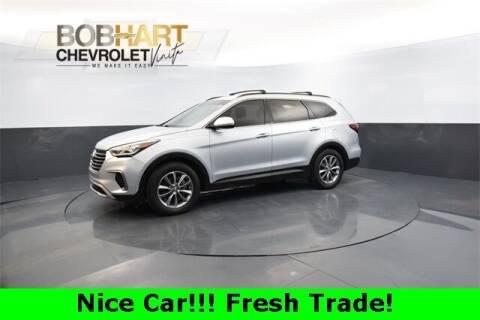 2017 Hyundai Santa Fe for sale at BOB HART CHEVROLET in Vinita OK