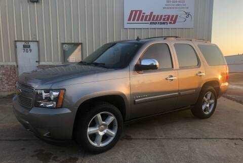 2008 Chevrolet Tahoe for sale at Midway Motors in Conway AR
