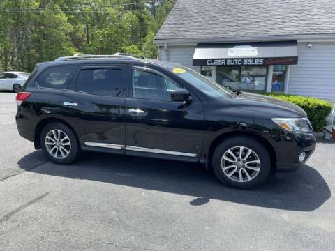 2013 Nissan Pathfinder for sale at Clear Auto Sales in Dartmouth MA