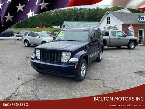 2012 Jeep Liberty for sale at BOLTON MOTORS INC in Bolton CT