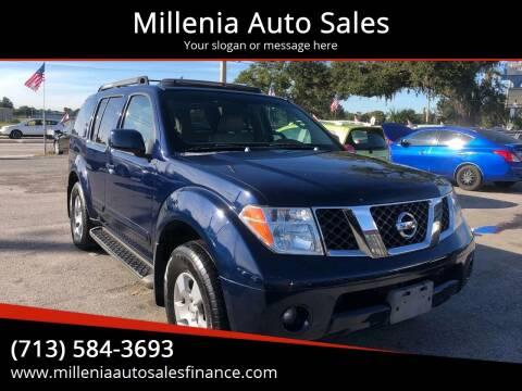2007 Nissan Pathfinder for sale at Millenia Auto Sales in Orlando FL