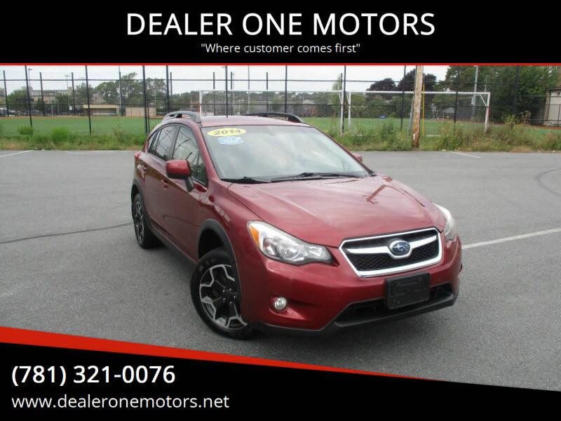 2014 Subaru XV Crosstrek for sale at DEALER ONE MOTORS in Malden MA