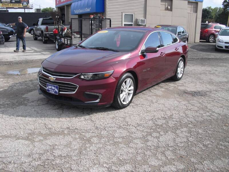 2016 Chevrolet Malibu for sale at 1st Choice Auto Inc in Green Bay WI