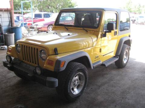 2003 Jeep Wrangler for sale at CARZ R US 1 in Armington IL