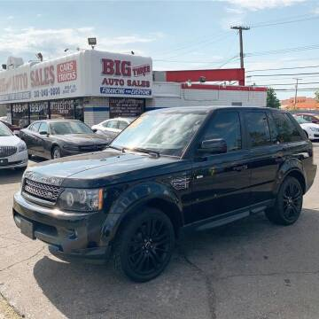 2012 Land Rover Range Rover Sport for sale at Big Three Auto Sales Inc. in Detroit MI