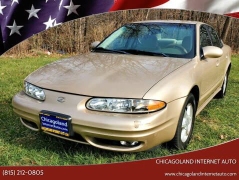 2001 Oldsmobile Alero for sale at Chicagoland Internet Auto - 410 N Vine St New Lenox IL, 60451 in New Lenox IL