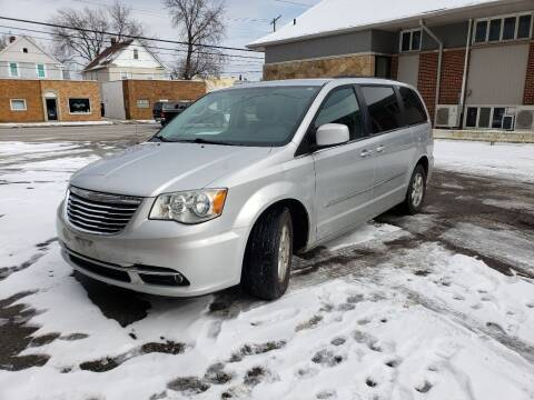 2012 Chrysler Town and Country for sale at USA AUTO WHOLESALE LLC in Cleveland OH
