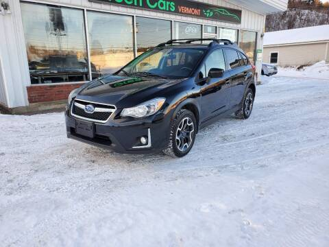 2016 Subaru Crosstrek for sale at Green Cars Vermont in Montpelier VT