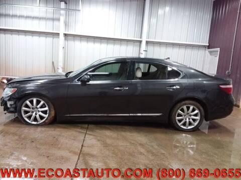 2009 Lexus LS 460 for sale at East Coast Auto Source Inc. in Bedford VA