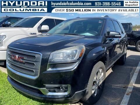 2014 GMC Acadia for sale at Hyundai of Columbia Con Alvaro in Columbia TN