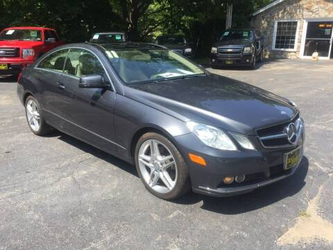 2011 Mercedes-Benz E-Class for sale at Bladecki Auto LLC in Belmont NH