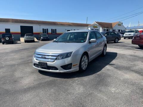 2011 Ford Fusion for sale at Credit Connection Auto Sales Dover in Dover PA