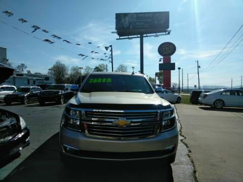 2015 Chevrolet Suburban for sale at AUTOPLEX 528 LLC in Huntsville AL