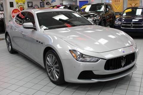 2017 Maserati Ghibli for sale at Windy City Motors in Chicago IL