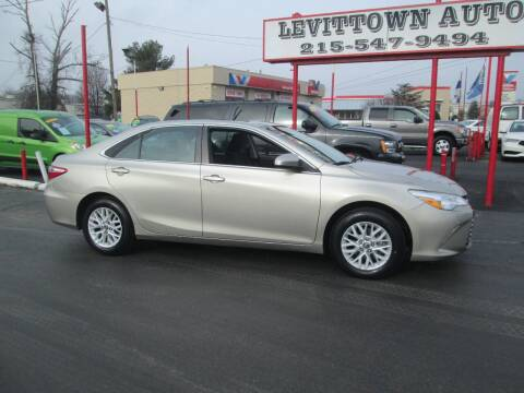 2017 Toyota Camry for sale at Levittown Auto in Levittown PA