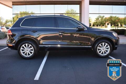 2015 Volkswagen Touareg for sale at GOLDIES MOTORS in Phoenix AZ