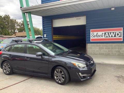 2015 Subaru Impreza for sale at Select AWD in Provo UT