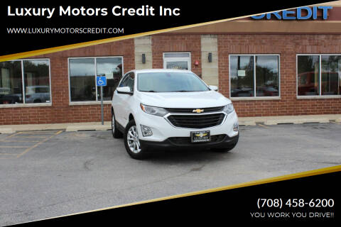 2018 Chevrolet Equinox for sale at Luxury Motors Credit Inc in Bridgeview IL