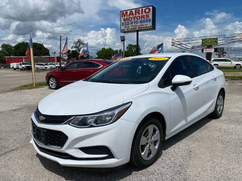 2017 Chevrolet Cruze for sale at Mario Motors in South Houston TX