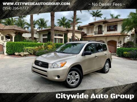 2006 Toyota RAV4 for sale at Citywide Auto Group LLC in Pompano Beach FL