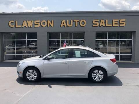 2014 Chevrolet Cruze for sale at Clawson Auto Sales in Clawson MI