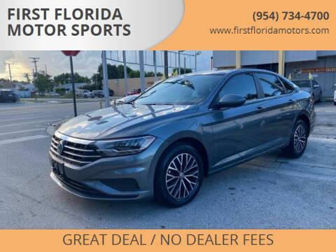 2019 Volkswagen Jetta for sale at FIRST FLORIDA MOTOR SPORTS in Pompano Beach FL