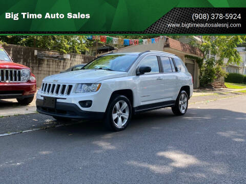 2012 Jeep Compass for sale at Big Time Auto Sales in Vauxhall NJ