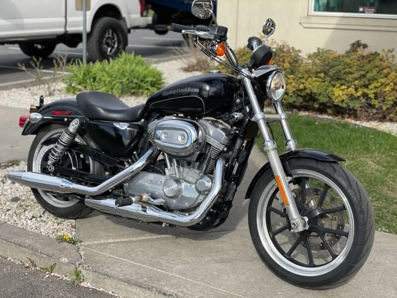 2017 Harley-Davidson XL-883 SuperLow for sale at Harper Motorsports-Powersports in Post Falls ID