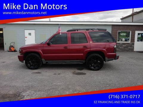 2004 Chevrolet Tahoe for sale at Mike Dan Motors in Niagara Falls NY