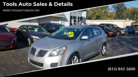 2009 Pontiac Vibe for sale at Tools Auto Sales & Details in Pontiac IL