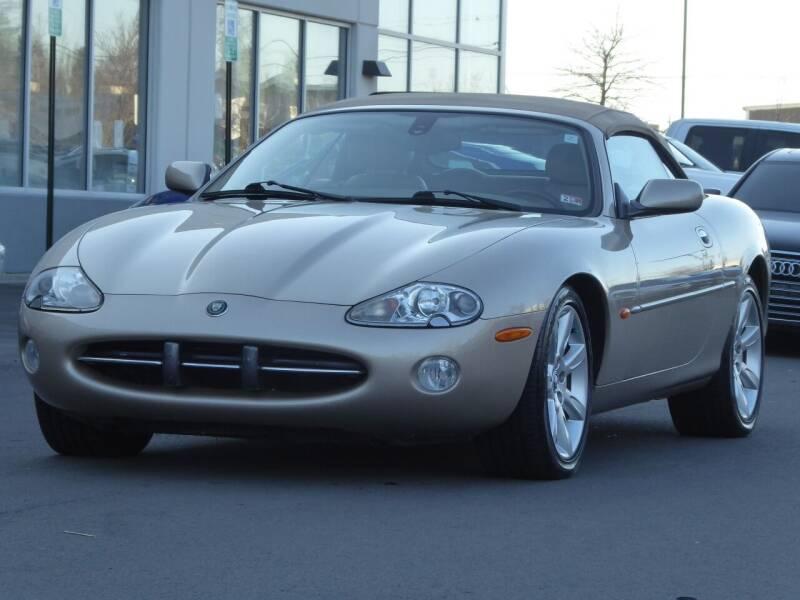 2003 Jaguar XK-Series for sale at Loudoun Used Cars - LOUDOUN MOTOR CARS in Chantilly VA