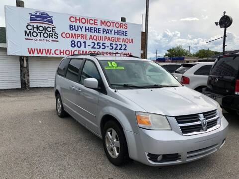 2010 Dodge Grand Caravan for sale at Choice Motors of Salt Lake City in West Valley  City UT