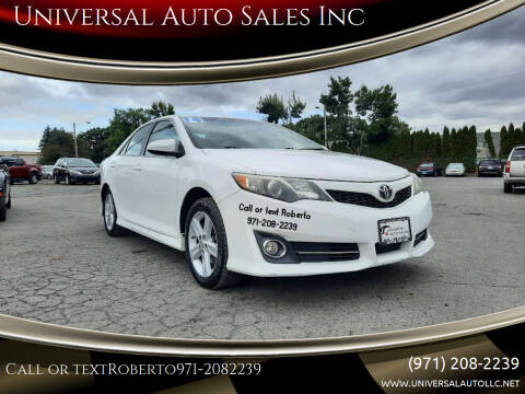 2014 Toyota Camry for sale at Universal Auto Sales Inc in Salem OR