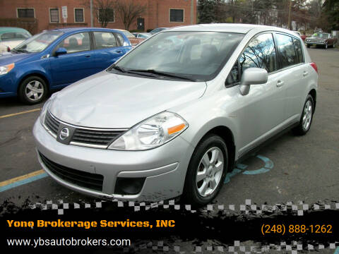 2008 Nissan Versa for sale at Yono Brokerage Services, INC in Farmington MI