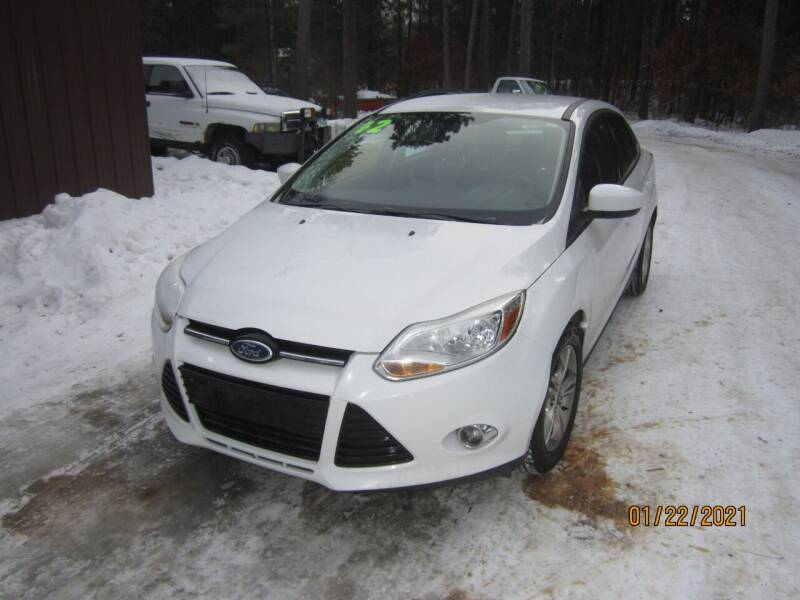 2012 Ford Focus for sale at SUNNYBROOK USED CARS in Menahga MN