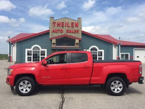 2016 GMC Canyon for sale at THEILEN AUTO SALES in Clear Lake IA