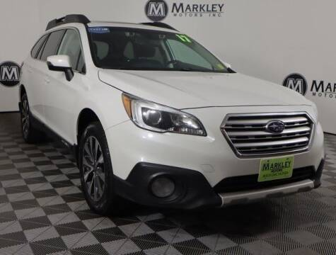 2017 Subaru Outback for sale at Markley Motors in Fort Collins CO