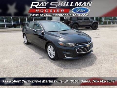 2018 Chevrolet Malibu for sale at Ray Skillman Hoosier Ford in Martinsville IN