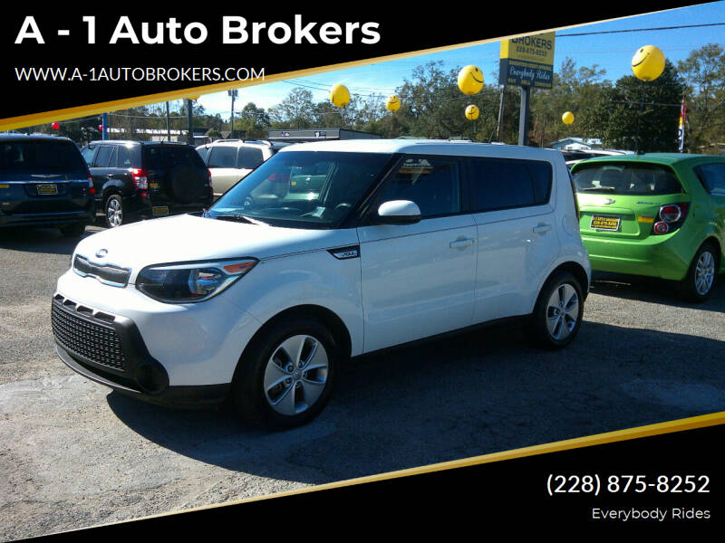 2016 Kia Soul for sale at A - 1 Auto Brokers in Ocean Springs MS