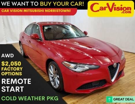 2017 Alfa Romeo Giulia for sale at Car Vision Mitsubishi Norristown in Trooper PA