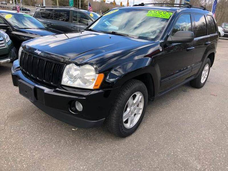 2006 Jeep Grand Cherokee for sale at TOLLAND CITGO AUTO SALES in Tolland CT