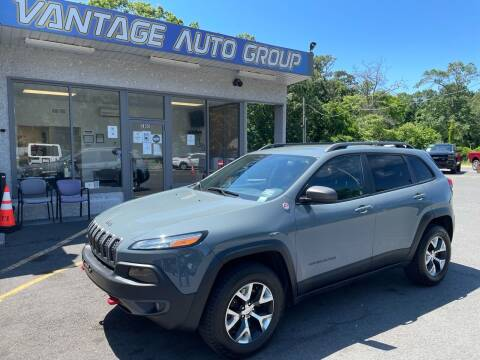 2014 Jeep Cherokee for sale at Vantage Auto Group in Brick NJ